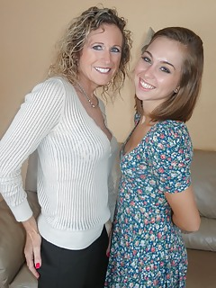 Mom vs Girl Pics